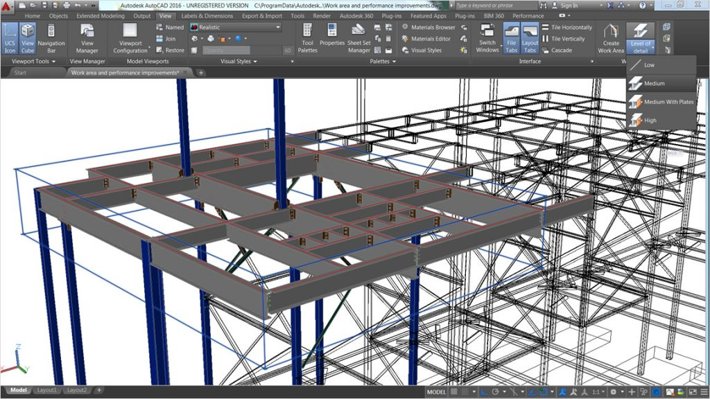 Structural steel design, #omegacadd